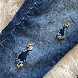 Jeans - Jennifer Lopez destroyed embellished (bling) jeans